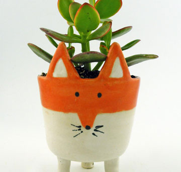 April Showers Bring Artist-Made Planters